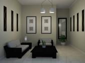 Desain ruang tamu minimalis ukuran 3x3 - ke 11